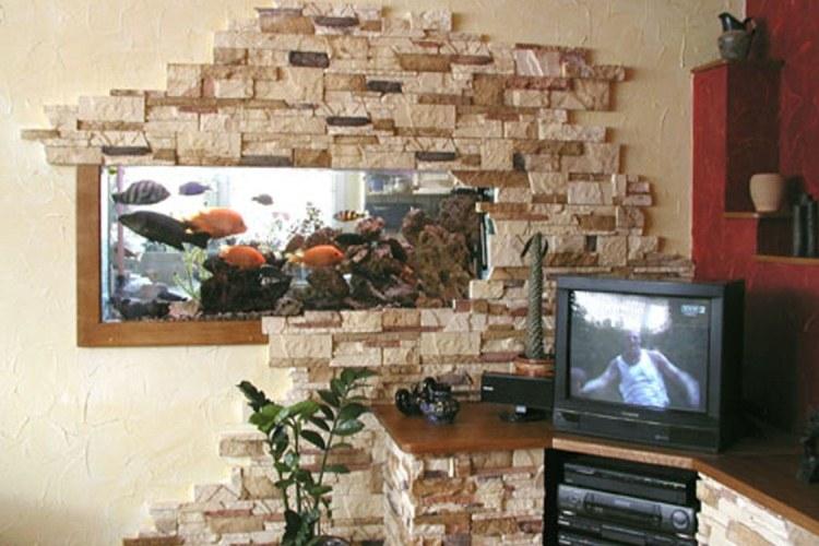 Декоративный камин из гипса