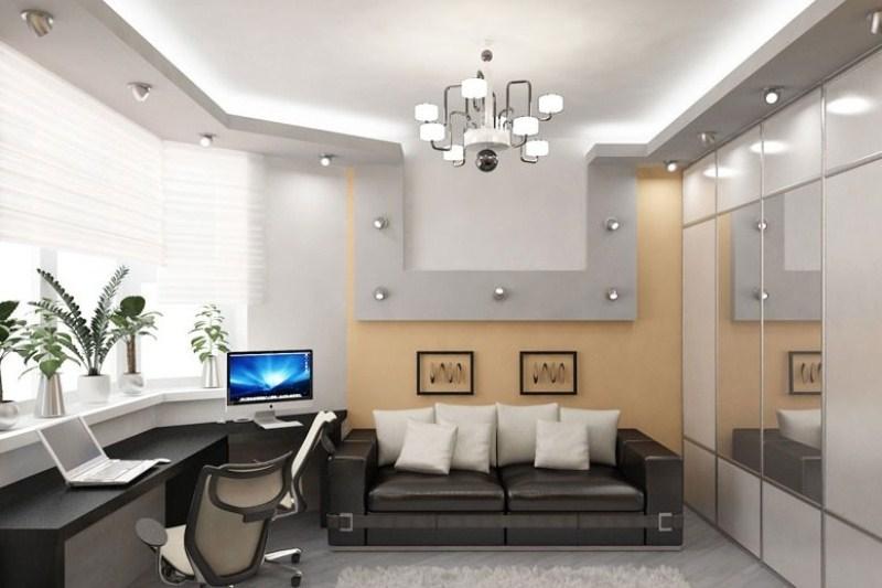 Дизайн молодежной комнаты фото
