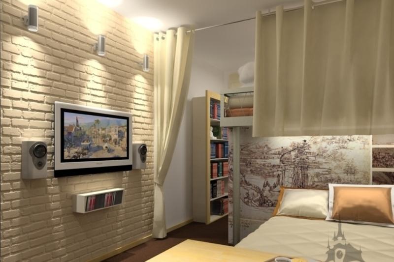 Декоративный кирпич фото в квартире